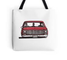 MMM DROP in red Tote Bag