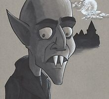 Nosferatu the Vampire by sdurington
