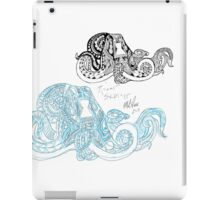 Rough Sketch Octopus iPad Case/Skin