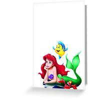 Ariel Greeting Card
