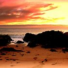 Sunrise at Bass Strait - Tasmania by Chris Chalk