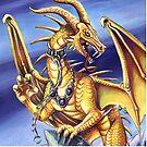 Gold Dragon  by cybercat