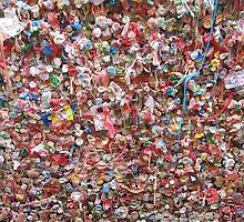 Gum Wall by rileysoeffker