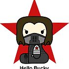 Hello Bucky by Aortic-Inkwell