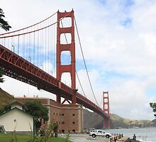 Golden Gate Bridge During the Day by JYapPrints