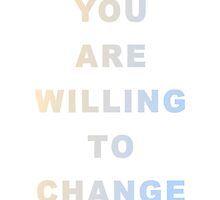 gradient lettering - change by gvldenbabe