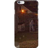 Ghostly Apparition Outside Stone Cottage, Sleepy Hollow NY iPhone Case/Skin