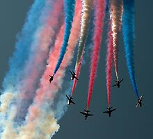 The Red Arrows by © Steve H Clark Photography