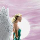 Sun angel by Kitsune Arts