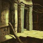 Ancient ruins by Kitsune Arts
