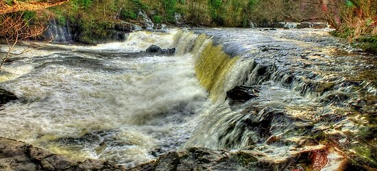 Upper Falls Aysgarth 1 - HDR by Colin J Williams Photography