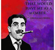 Groucho Marx by Bang-Bang-Oh