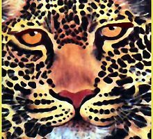 Leopard Watercolour by Mariaan M Krog Fine Art Portfolio