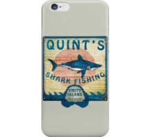 Quint's Shark Fishing iPhone Case/Skin