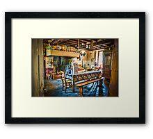 Farmhouse Kitchen Framed Print