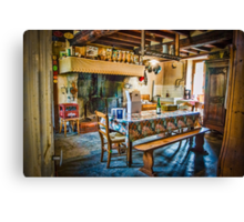 Farmhouse Kitchen Canvas Print