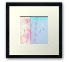 Blue winter dreaming Framed Print
