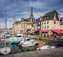 Honfleur Harbour by Sue Martin