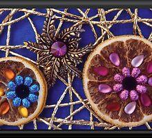 Jeweled Orange Slices by Tamarra