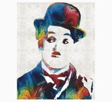 Charlie Chaplin Art - Oh Charlie - By Sharon Cummings T-Shirt