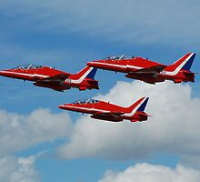 The Red Arrows - Fairford 07 by © Steve H Clark Photography