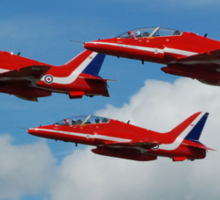 The Red Arrows - Fairford 07 Sticker
