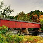 West Cornwall Covered Bridge by Kathy Baccari