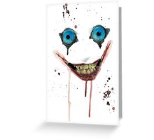 Jeff The Killer Greeting Card