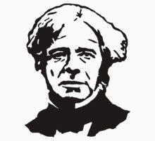 Michael Faraday Stencil by tlau