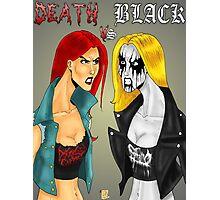 Death Metal Vs. Black Metal: Battle Of The Metals Photographic Print