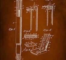 Police Club Patent 1901 by Patricia Lintner