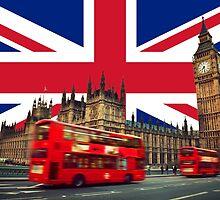 London Union Jack by elizarschaap