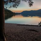 Lake McDonald Twilight by Gary Lengyel