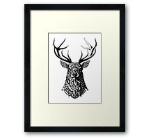 Ornate Buck Framed Print