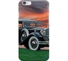 1931 Packard 845 Deluxe Eight Sports Sedan II iPhone Case/Skin
