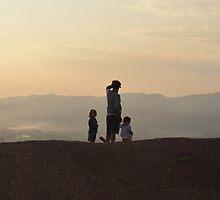 Hsipaw sunset, Burma by nickcally
