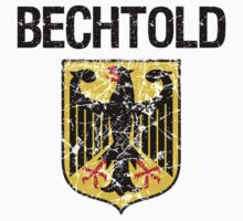 Bechtold Surname German Kids Clothes