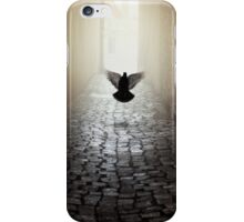 Morning impression with a dove iPhone Case/Skin