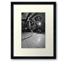 The B-Boy Files - #4 | Sour Apple Swank Framed Print