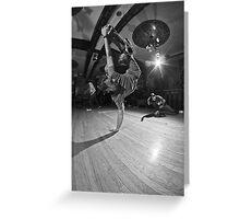 The B-Boy Files - #4 | Sour Apple Swank Greeting Card