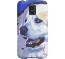 Great Pyrenees Mountain Dog Bright colorful pop dog art Samsung Galaxy Case/Skin
