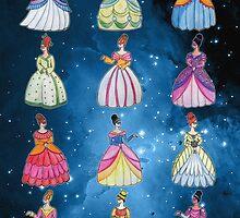 Twelve Dancing Princesses by unicornucopiae