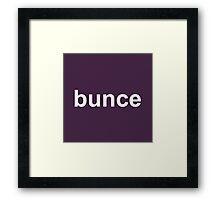 Bunce - The Office - David Brent - Dark Framed Print