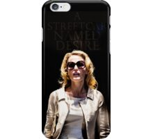 Gillian Anderson as Blanche DuBois in A Streetcar Named Desire iPhone Case/Skin