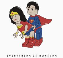 super hero lego - everything is awesome by MO66