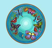Vortex of Transformation by JoellenLily