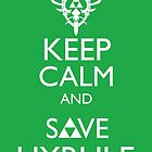 Keep Clam and Save Hyrule by FlgStudios