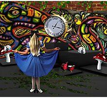 Go Ask Alice... Photographic Print