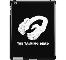 Handset Logo with text iPad Case/Skin