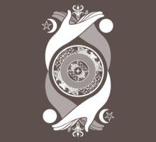 Spiritual Compass (white) Kids Clothes